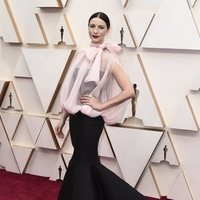 Caitriona Balfe on the red carpet at the 2020 Oscar Awards