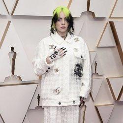 Billie Eilish at the Oscar 2020 red carpet