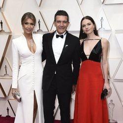 Antonio Banderas on the red carpet at the 2020 Oscar Awards