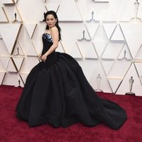 Kelly Marie Tran at the red carpet of the Oscars 2020