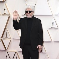Pedro Almodóvar at the red carpet of the Oscar 2020