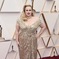 Rebel Wilson at the Oscar 2020 red carpet