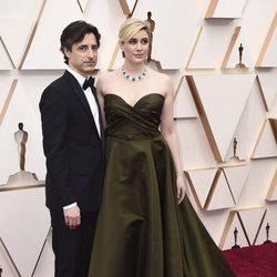 Greta Gerwig and Noah Baumbach at the Oscar 2020 red carpet