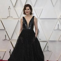 Geena Davis at the Oscar 2020 red carpet