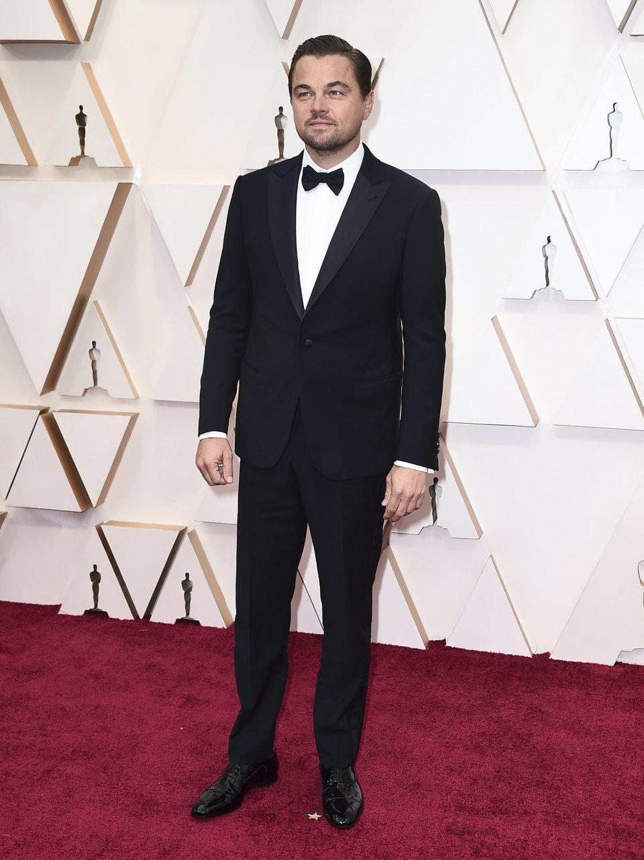 Leonardo DiCaprio at the Oscar 2020 red carpet