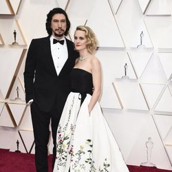 Adam Driver on the red carpet at the 2020 Oscar Awards