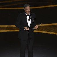 Taika Waititi receives the Oscar for Best Adapted Screenplay for 'Jojo Rabbit'