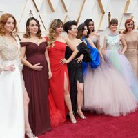 Gisela and the Elsas of the World at the Oscars 2020 red carpet