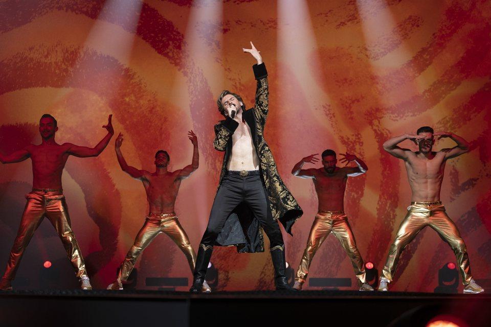 Eurovision Song Contest: The Story of Fire Saga, fotograma 1 de 9