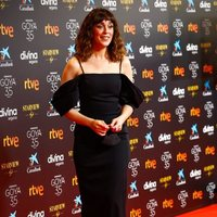 Belén Cuesta at the red carpet of the 35th edition of the Goya Awards
