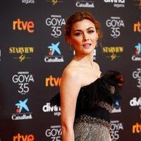 Marta Nieto at the Goya 2021 red carpet