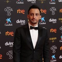 Alejandro Amenábar at the red carpet of the 35th edition of the Goya Awards