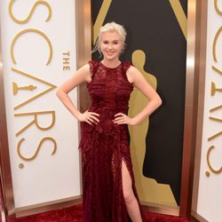 Ireland Baldwin at the red carpet of the Oscars 2014