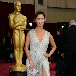 Rocsi Diaz at the 2014 Academy Awards