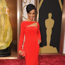 Shaun Robinson at the 2014 Academy Awards