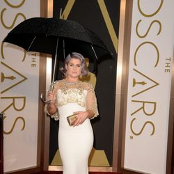 Kelly Osbourne at the red carpet of the Oscars 2014