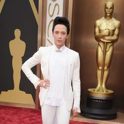 Johnny Weir at the 2014 Academy Awards