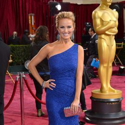 Brooke Anderson at the red carpet of the 2014 Academy Awards