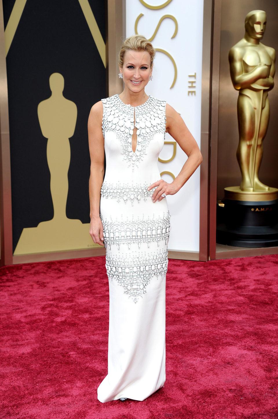 Lara Spencer at the 2014 Oscars