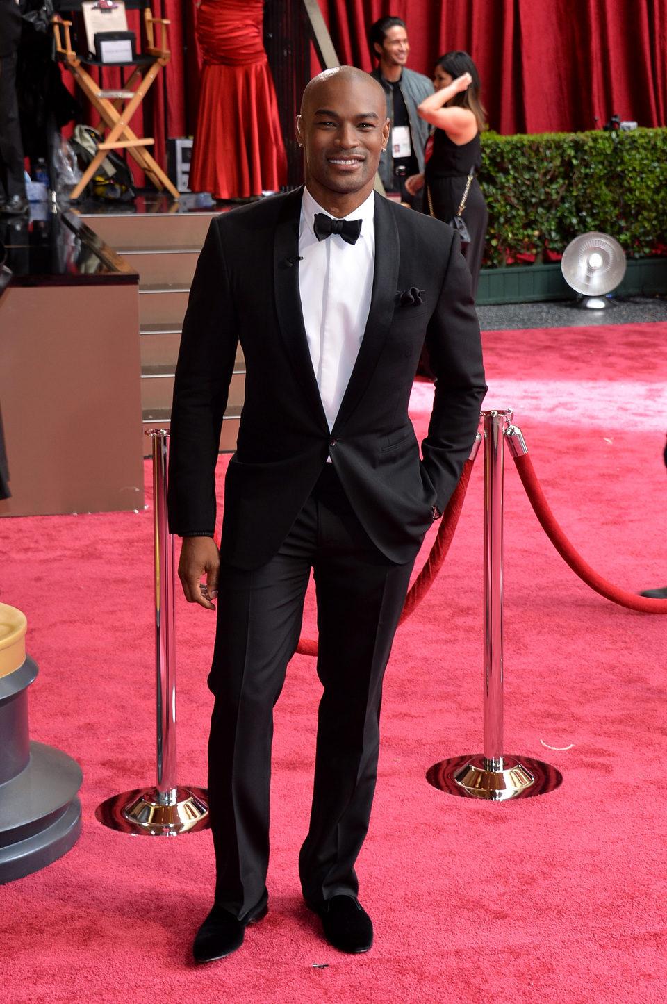 Tyson Beckford at the 2014 Oscars