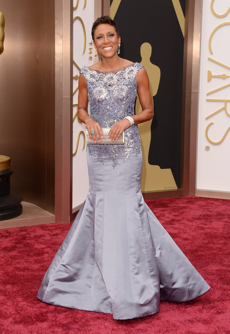 Robin Roberts at the 2014 Oscars