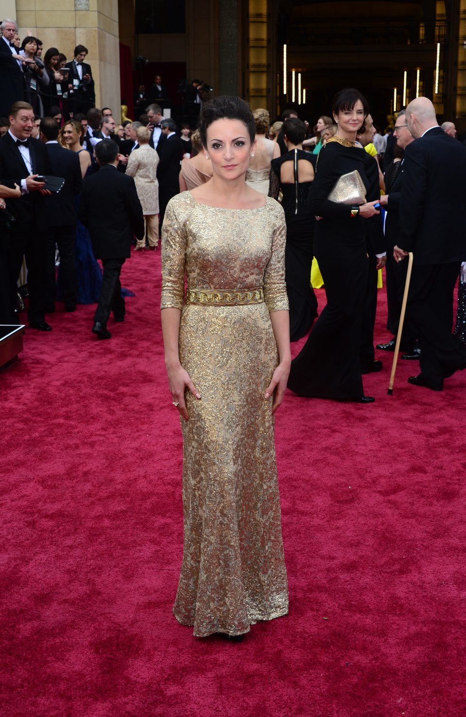 Sarah Ishaq at the 2014 Oscars