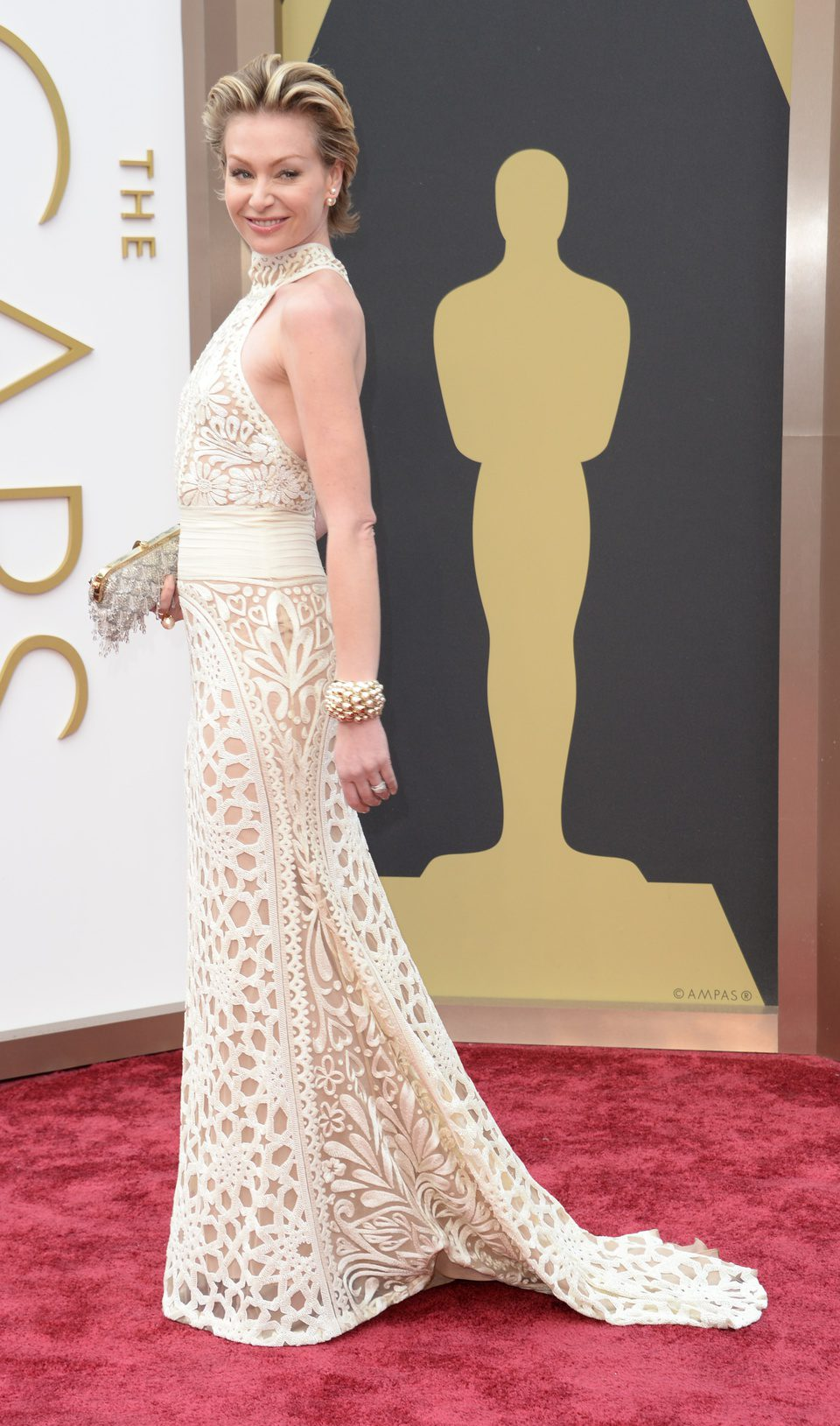 Portia de Rossi at the 2014 Oscars