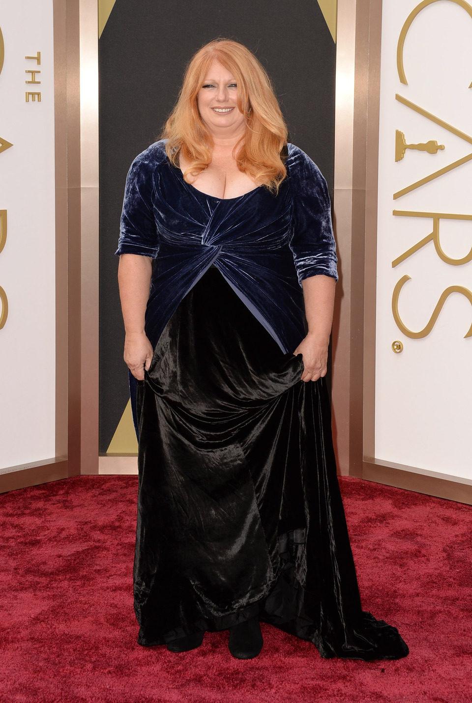 Adruitha Lee at the 2014 Oscars