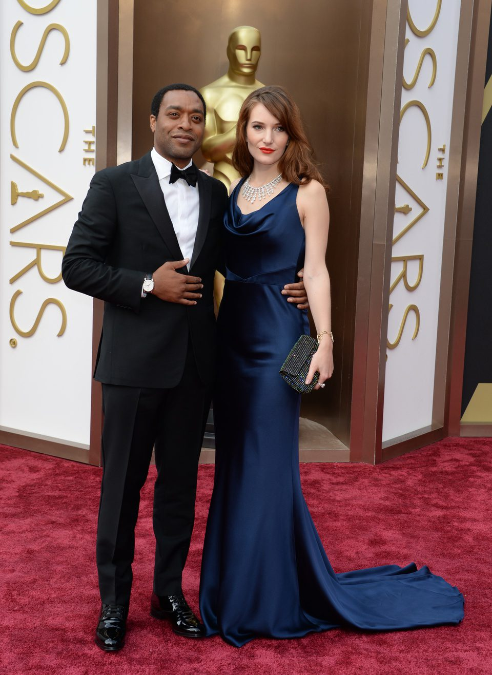 Chiwetel Ejiofor at 2014 Oscars