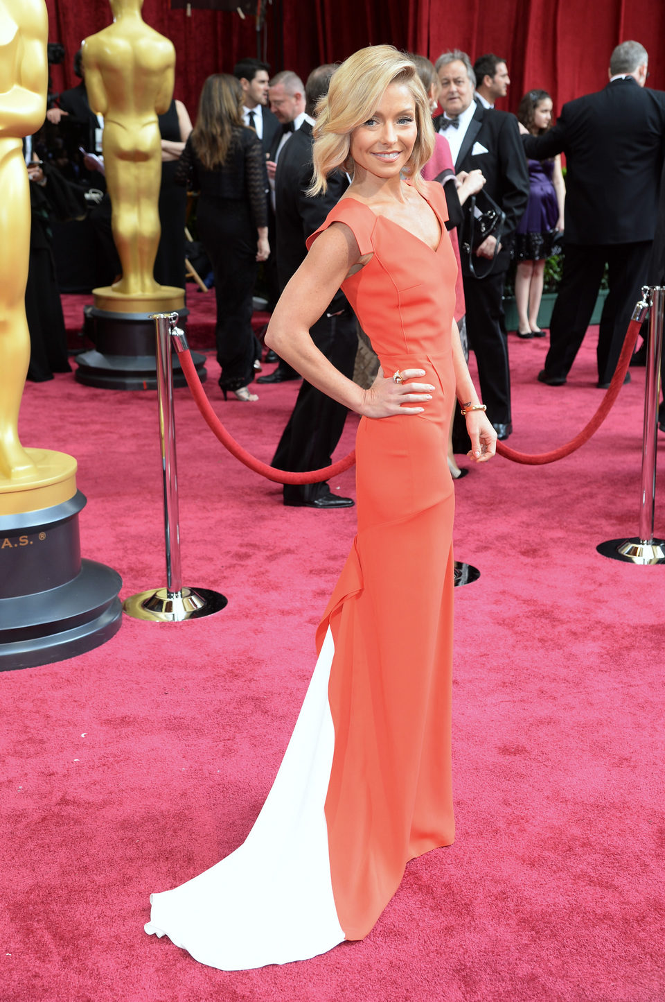 Kelly Ripa at the 2014 Oscars