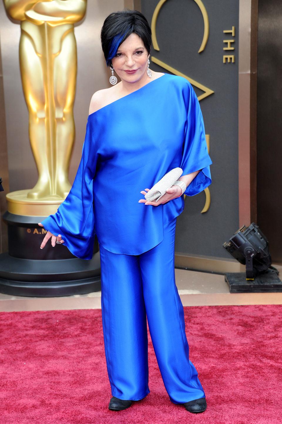 Liza Minelli at the 2014 Oscars