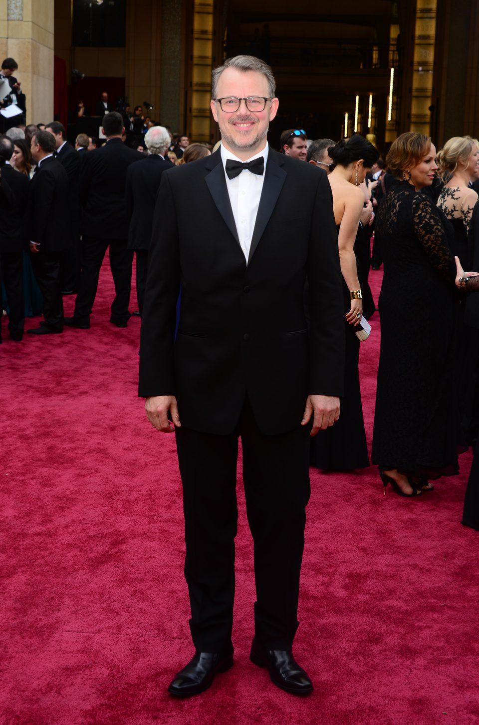 Edgar Barens at the 2014 Oscars