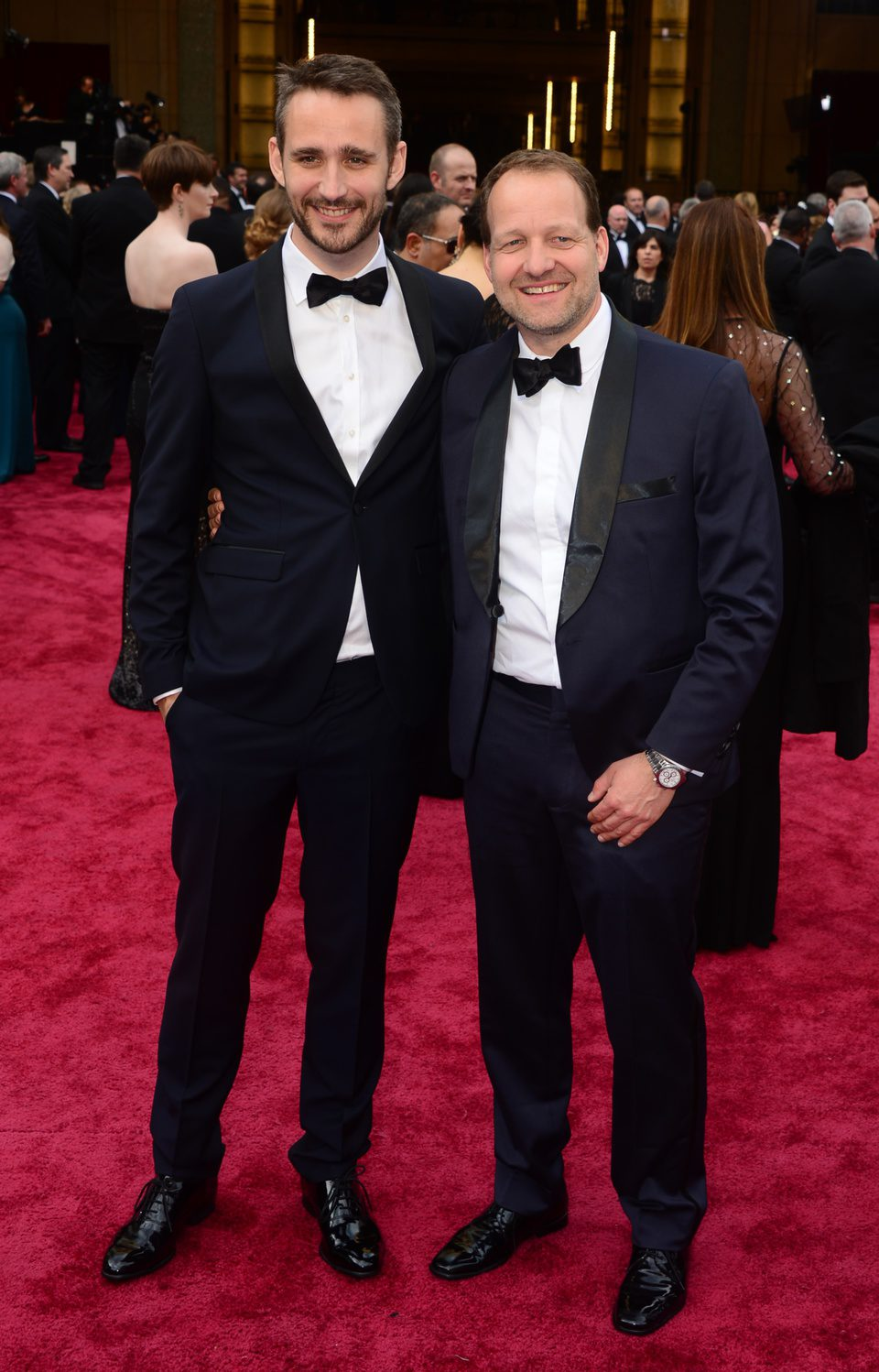 Anders Walter and Kim Magnusson at the 2014 Oscars