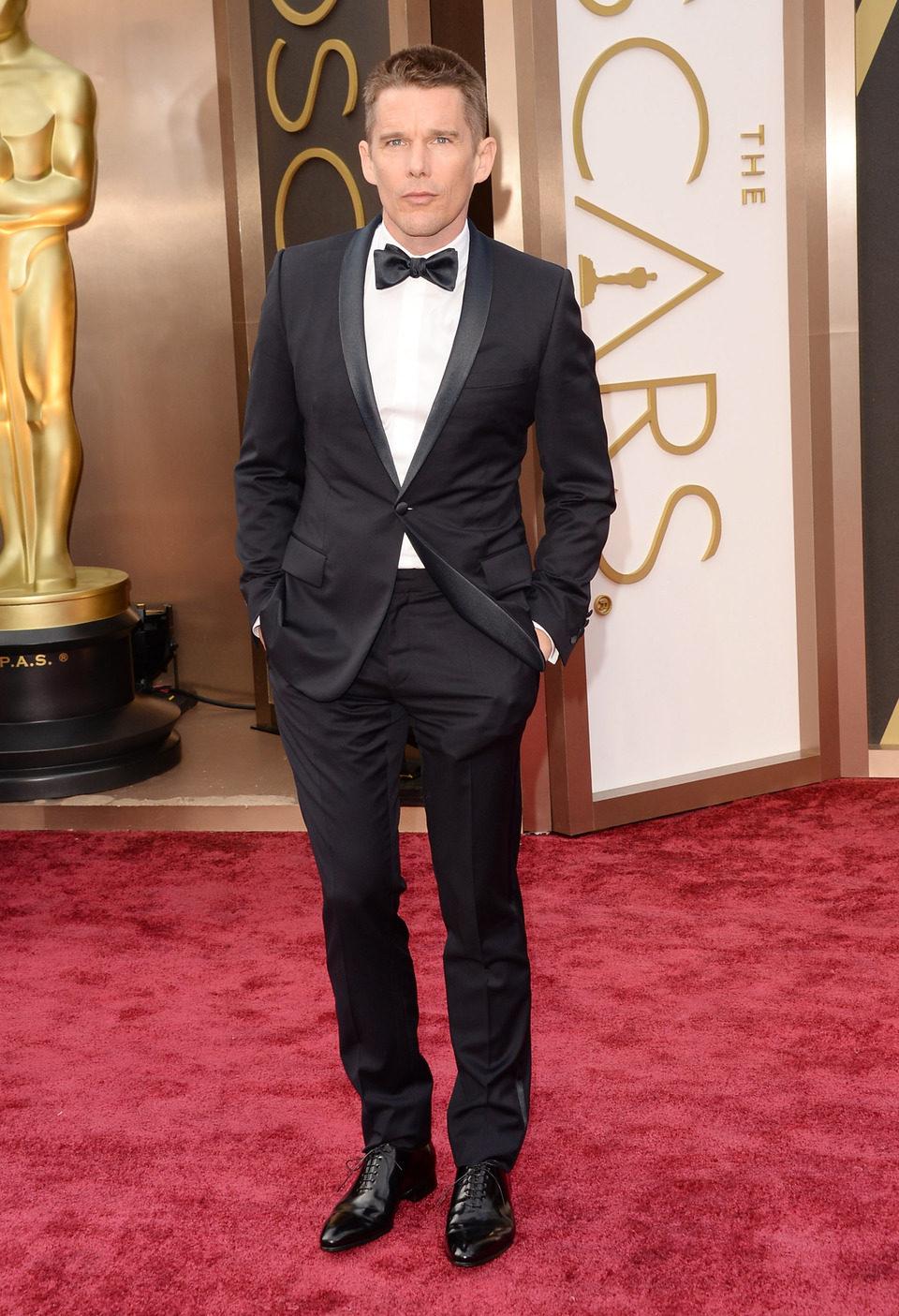 Ethan Hawke at the 2014 Oscars