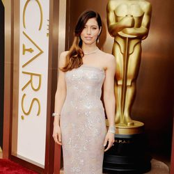 Jessica Biel at the 2014 Oscars