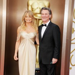 Kurt Russell and Goldie Hawn at the 2014 Oscars