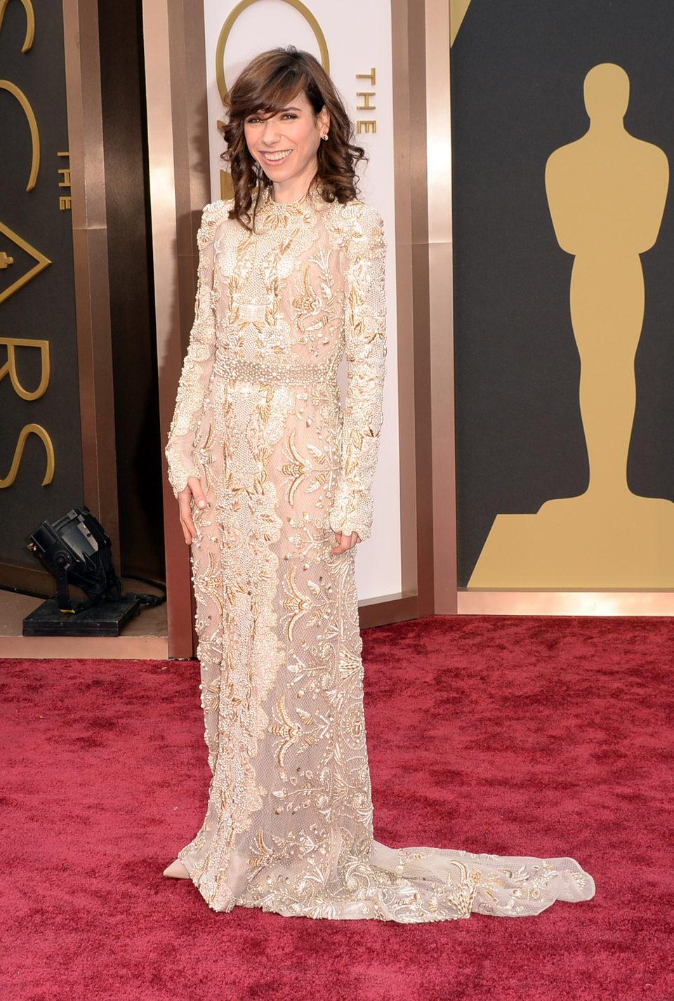 Sally Hawkins at the 2014 Oscars
