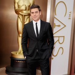 Zac Efron at the 2014 Oscars