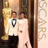 Matthew McConaughey and Camila Alves at the 2014 Oscars