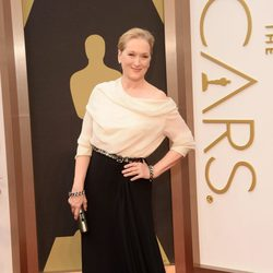 Meryl Streep at the 2014 Oscars