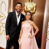 Will Smith and Jada Pinkett Smith at the 2014 Oscars