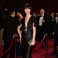 Karen O on the red carpet at the 2014 Oscars