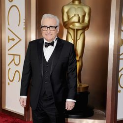 Martin Scorsese on the red carpet at the 2014 Oscars