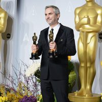 Alfonso Cuarón, Best Director at the 2014 Oscars