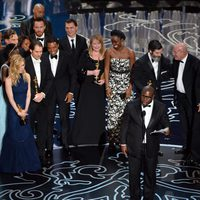 The team of '12 Years a Slave', Best Motion Picture at the 2014 Oscars