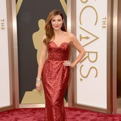 Thea Andrews at the 2014 Oscars