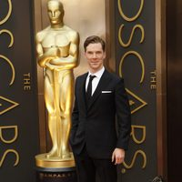 Benedict Cumberbatch at the 2014 Oscars