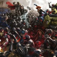 Banner Comic-Con 'Avengers: Age of Ultron'