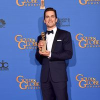 Matt Bomer, winner of the Golden Globe 2015 for the best actor in a supporting role for a miniseries