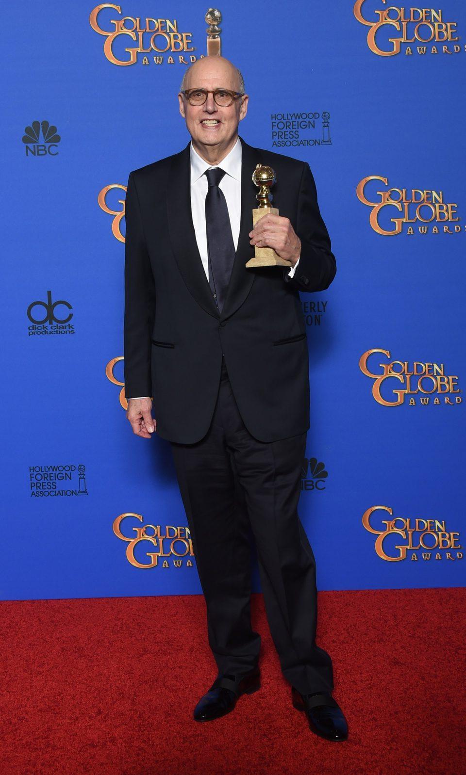 Jeffrey Tambor, winner of the Golden Globe 2015 for the best comedy actor